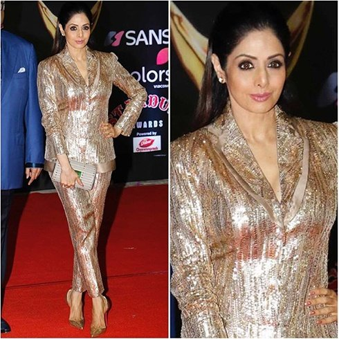 Sridevi Red Carpet