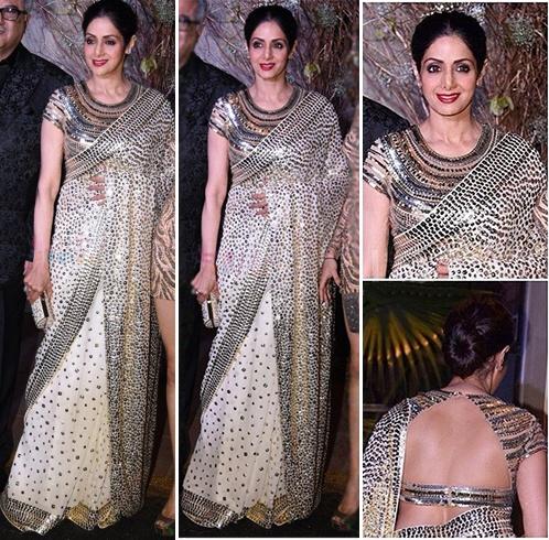 Sridevi Sari Styles