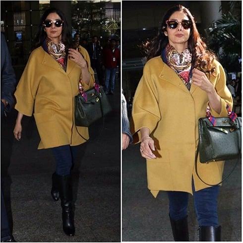 Sridevi Travel Fashion