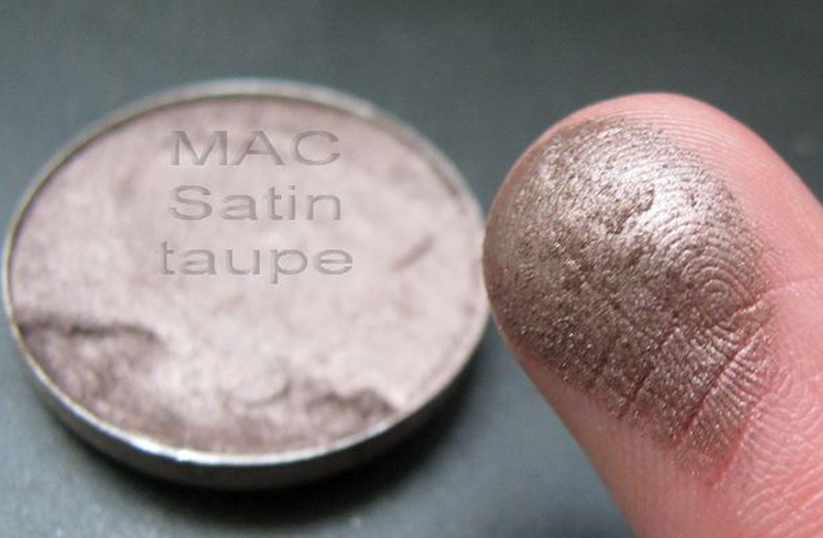 Taupe color eyeshadows