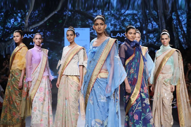 The second day at the Lakme Fashion