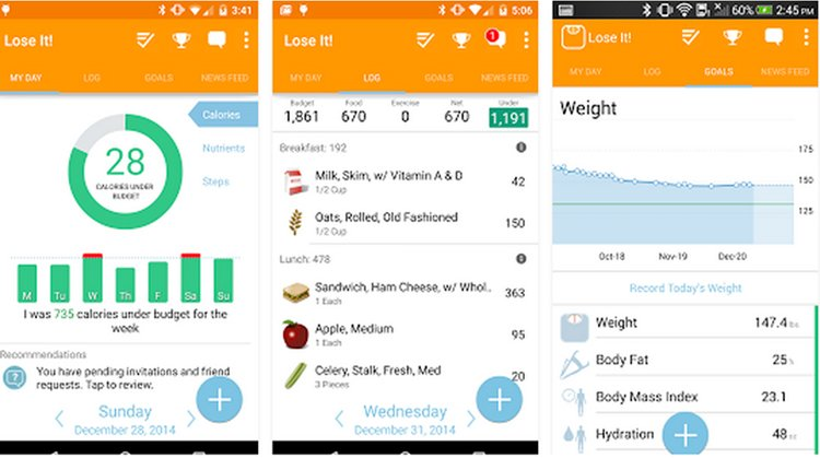 Weight loss apps for girls