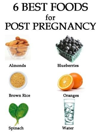 What to eat after delivery