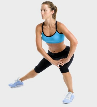 Workout without equipment for women
