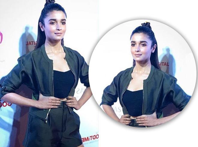 Alia Bhatt Hairbun