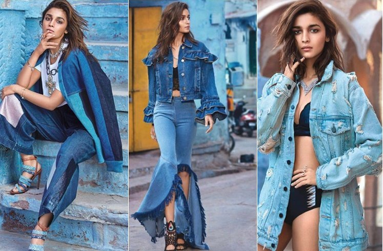 Alia Bhatt on Vogue Covers
