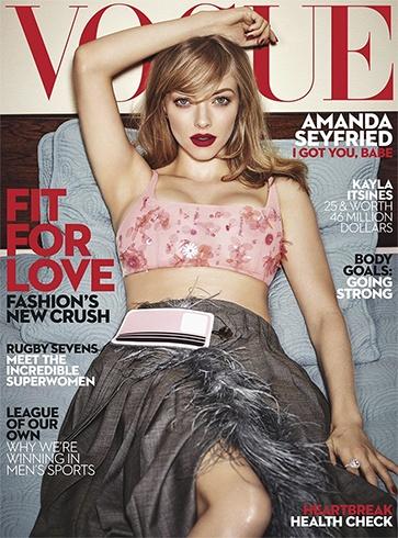 Amanda Seyfried for Vogue Australia