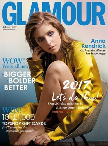 Anna Kendrick for Glamour