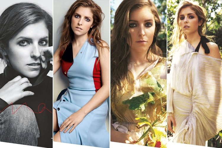 Anna Kendrick for Glamour UK