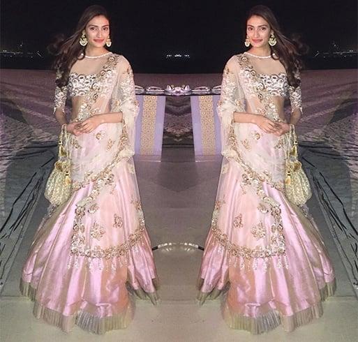 Athiya Shetty Designer Outfit