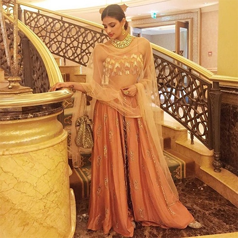 Athiya Shetty in Payal Singhal