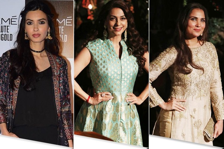 Bollywood Actresses At Lakme Fashion Week 2017