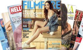 Bollywood Fashion Magazine Covers 2017
