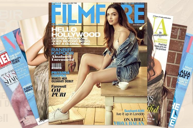Bollywood Fashion Magazine Covers