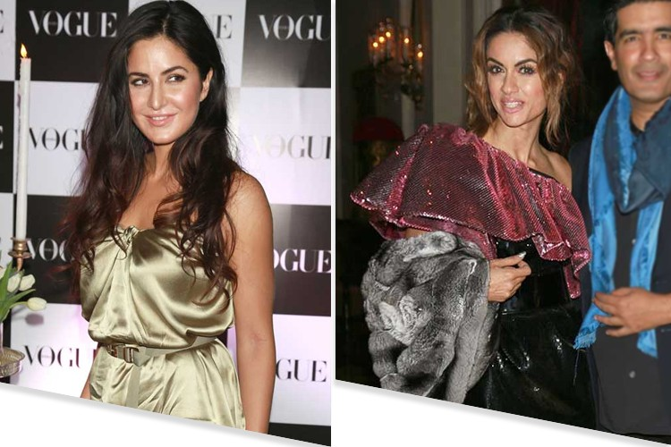Celebrites at Vogue Indias Bash