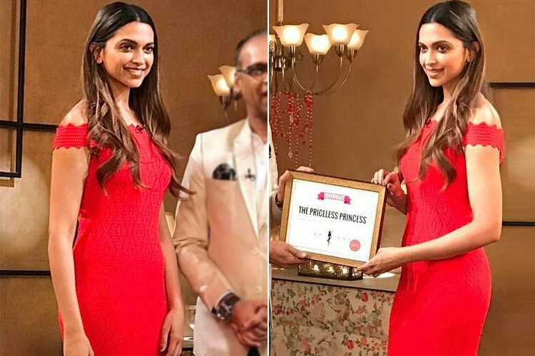 Deepika Padukone Priceless Princess Award
