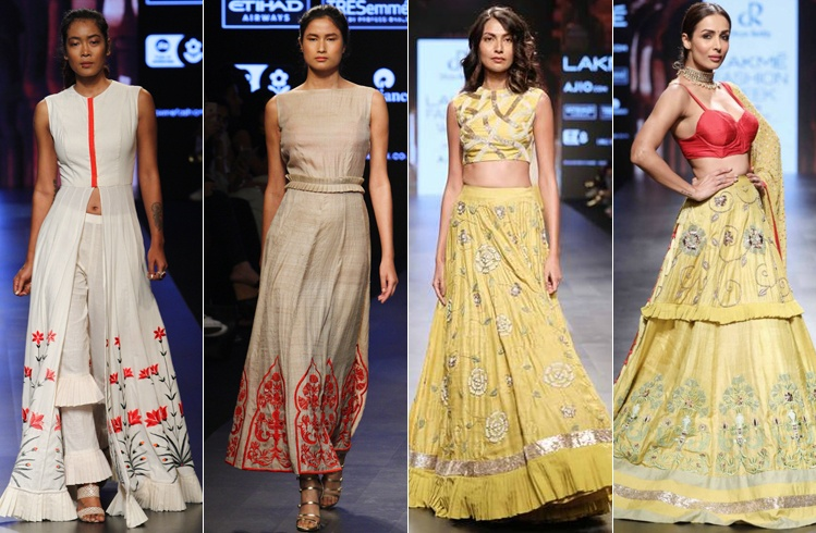 Divya Reddy LFW Collections