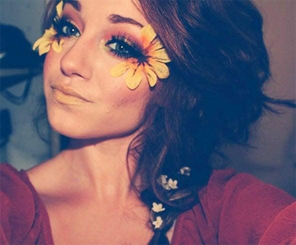 Glitter Rave Makeup
