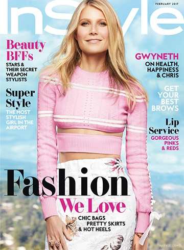 Gwyneth Paltrow for InStyle
