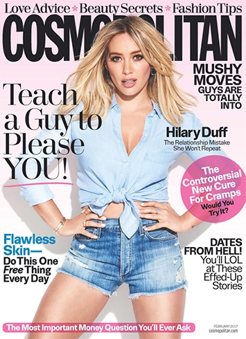 Hilary Duff for Cosmopolitan
