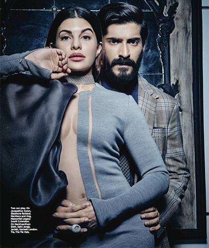 Jacqueline Fernandez On Harpers Bazaar