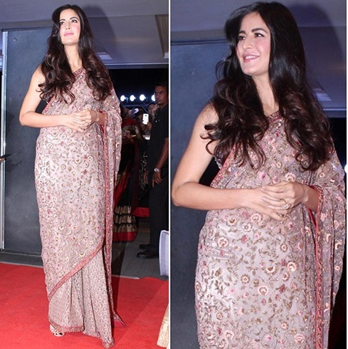 Katrina Kaif at Neil Nitin Mukesh Wedding Reception