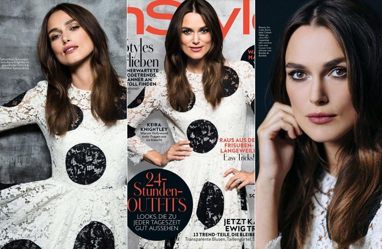 Keira Knightley for InStyle