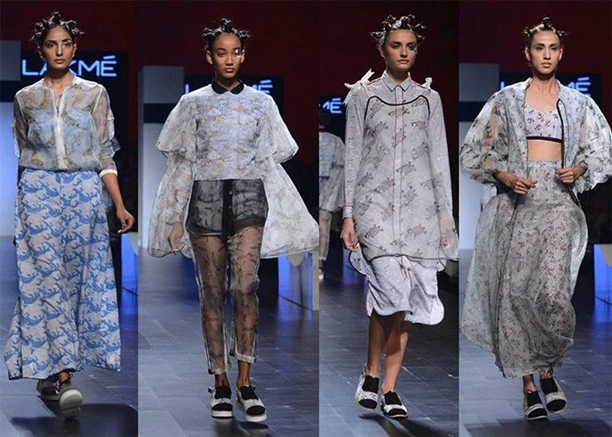 lfw show collections