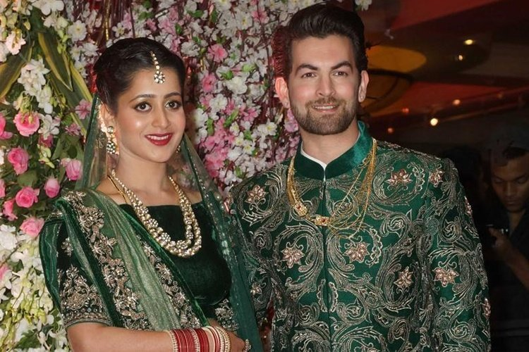 Neil Nitin Mukesh Wedding Reception
