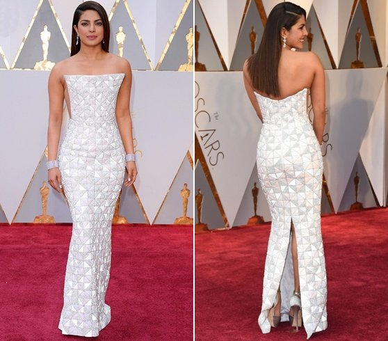 Priyanka Chopra At Oscars 2017