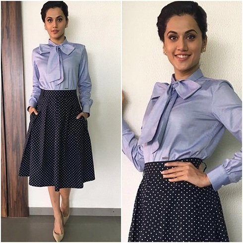 Taapsee Pannu In Urban Rust and DSquared2