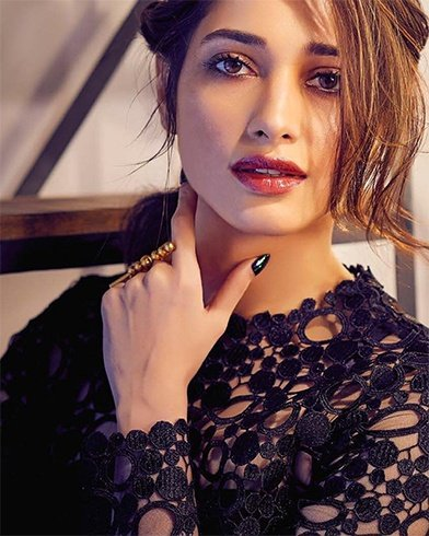 Tamannaah Bhatia On Exhibit Magazine