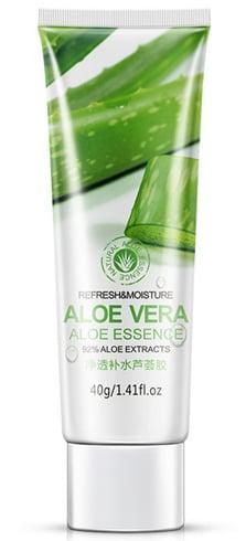 Acne treatment with aloe vera