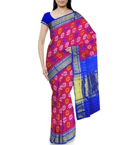 Arunasri Pochampally Ikkat Women's Silk Saree