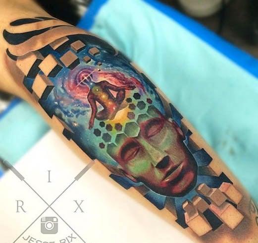 Chakra tattoo for girls