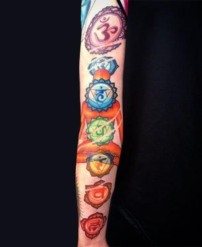 Chakra tattoo meaning