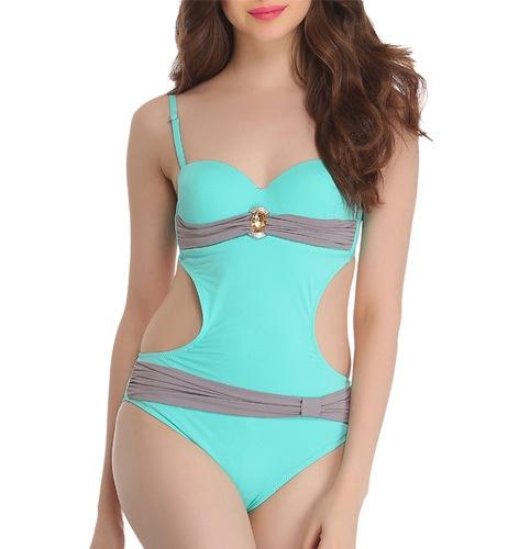 Green Polyamide Swimwear