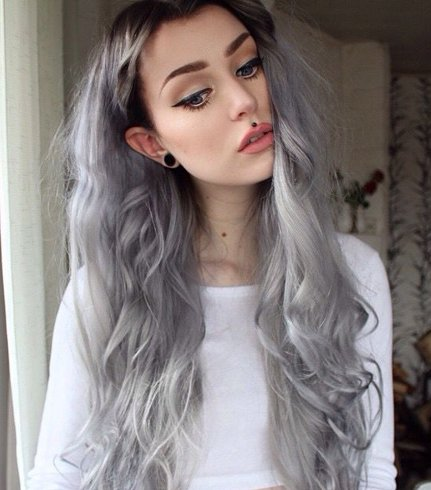 Hair White Blonde for girl