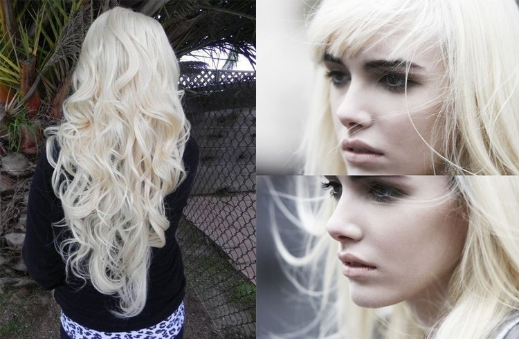 Dyeing Your Hair White Blonde