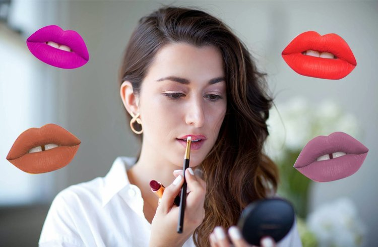 How to make lipstick matte