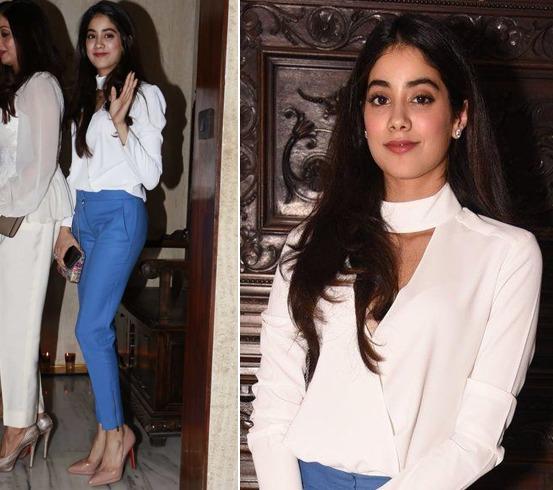 Jhanvi Kapoor Style
