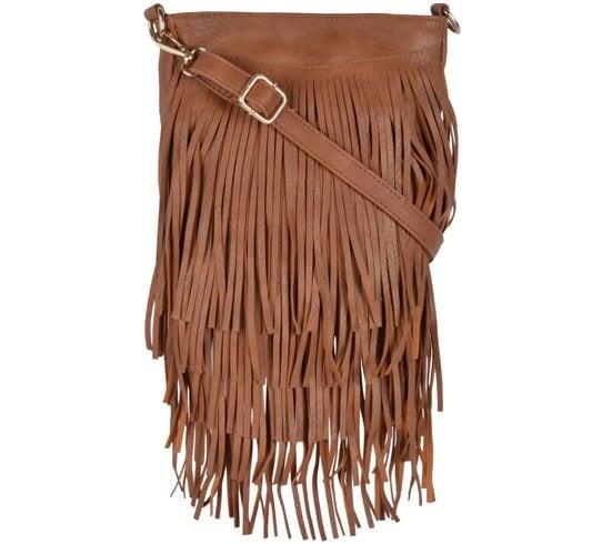 Kleio Brown P.U. Sling Bag