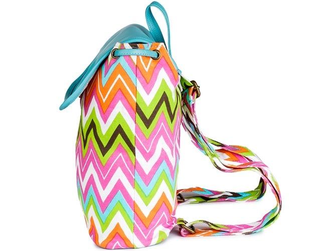 Martina Multi color Canvas Backpacks Bag
