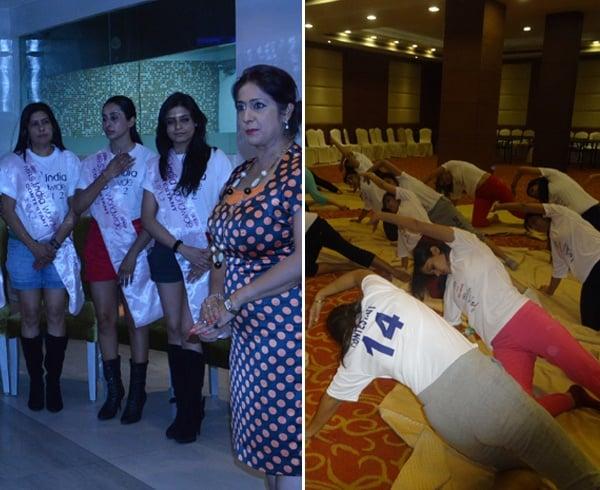 Mrs india worldwide contestants