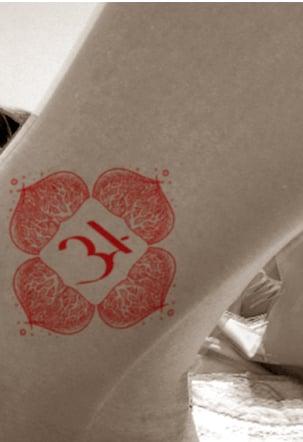 Muladhara chakra tattoo i
