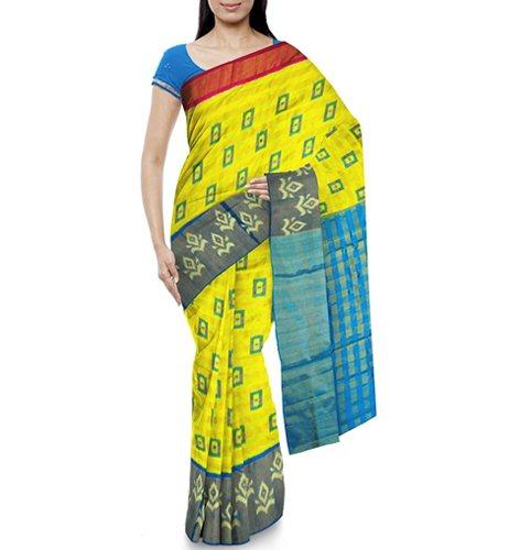 Naveen Ikkat Silk Pochampally Women's Silk Saree