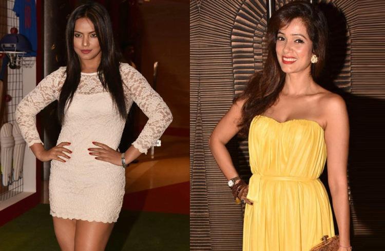 Neetu Chandra and Vidya Malvade