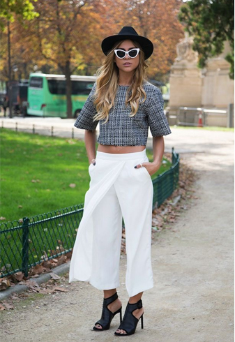 How To Wear Palazzo Pants Amp With What 30 Different Ways