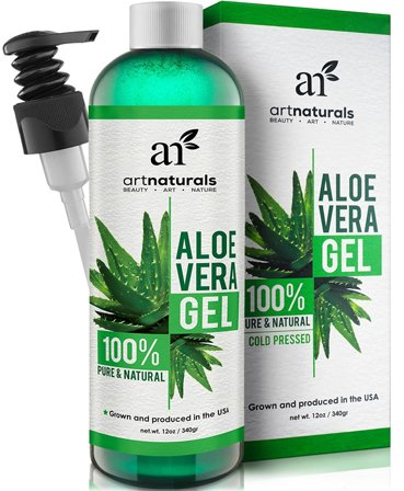 Promotes Hair Growth with aloe vera