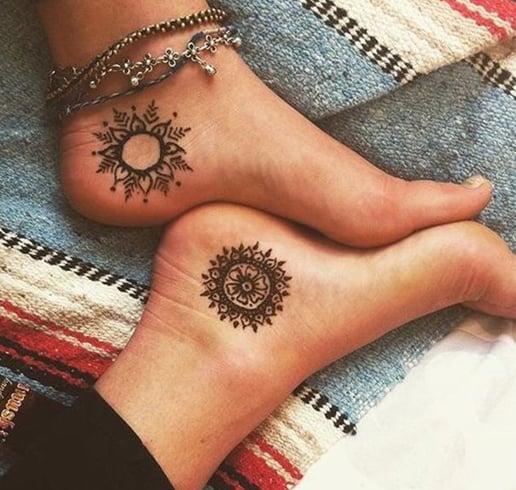 Root chakra tattoos